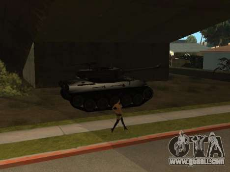 M18-Hellcat for GTA San Andreas side view