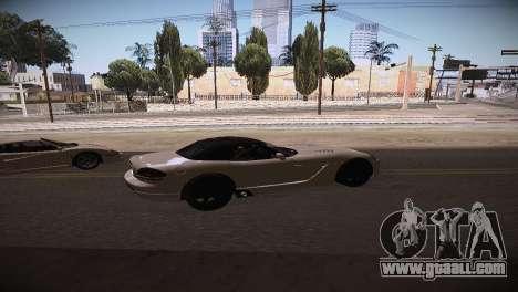 Dodge Viper SRT-10 Roadster for GTA San Andreas left view