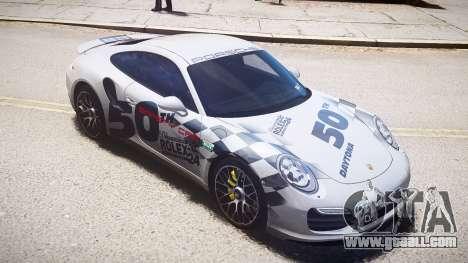 Porsche 911 Turbo 2014 for GTA 4
