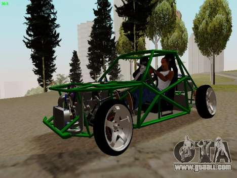 Nocturnal Motorsports Coyote for GTA San Andreas