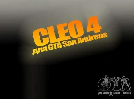 CLEO 4.3.10 for GTA San Andreas