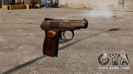 Self-loading pistol Makarova for GTA 4