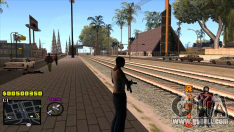 C-HUD Radio for GTA San Andreas