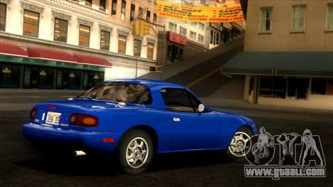 Mazda MX-5 Miata (NA) 1989 for GTA San Andreas left view