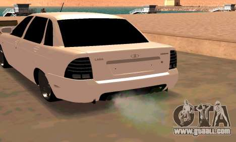 Lada Priora Sport for GTA San Andreas
