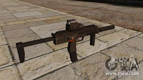MP7 submachine gun for GTA 4 second screenshot