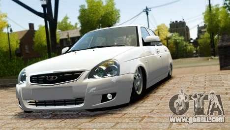 VAZ Lada 2170 Priora for GTA 4