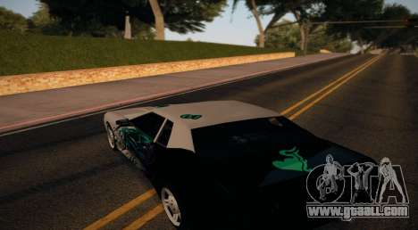 Vinyl for Elegy for GTA San Andreas back left view
