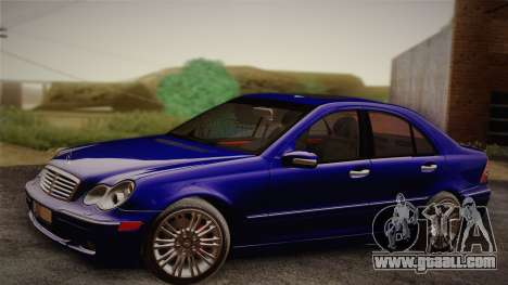 Mercedes-Benz C320 Elegance 2004 for GTA San Andreas right view