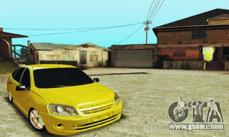Lada Granta Hatchback for GTA San Andreas