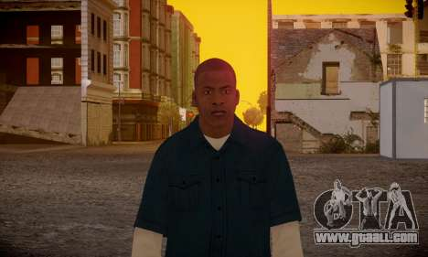 Franklin for GTA San Andreas sixth screenshot