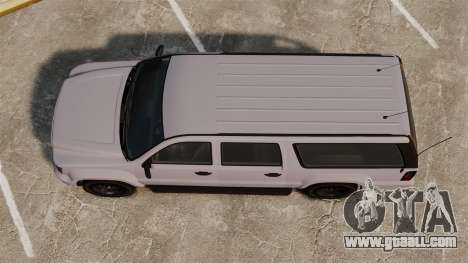 GTA V Declasse Granger FBI for GTA 4 right view