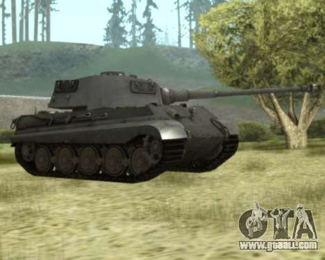 PzKpfw VIB Tiger II for GTA San Andreas left view