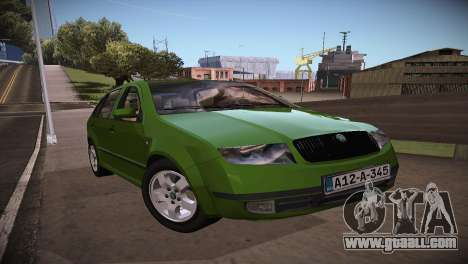 Skoda Fabia for GTA San Andreas