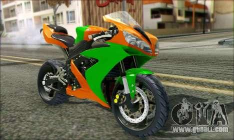 Yamaha R15 for GTA San Andreas