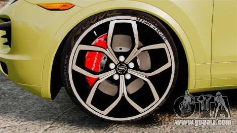 Porsche Cayenne 2012 SR for GTA 4 back view