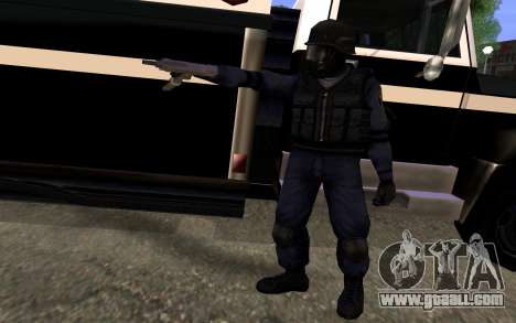 SWAT from Manhunt 2 for GTA San Andreas