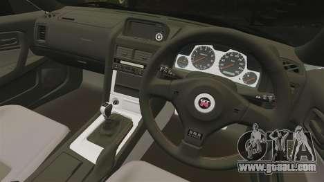 Nissan Skyline GT-R V-Spec II Mk.X [R34] for GTA 4 inner view