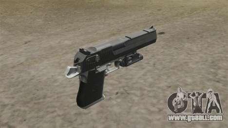 Desert Eagle Pistol MW2 for GTA 4 second screenshot
