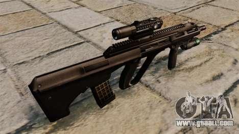 Steyr AUG A3 rifle for GTA 4 second screenshot