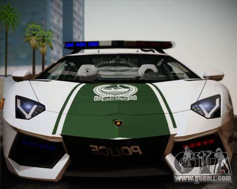 Lamborghini Aventador LP700-4 2012 RCPD V1.0 for GTA San Andreas left view