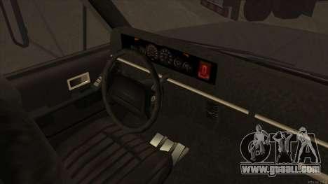 Yankee HD from GTA 3 for GTA San Andreas back view