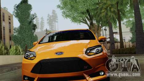 Ford Focus ST 2013 for GTA San Andreas left view