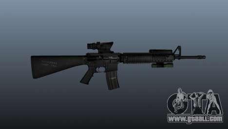 Assault rifle M16A4 AEG for GTA 4 third screenshot