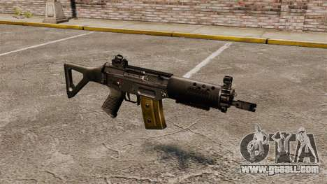 Assault rifle SIG SG 552 for GTA 4