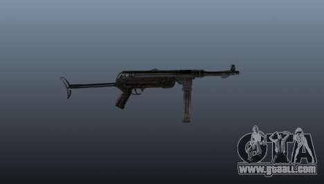 MP 40 submachine gun for GTA 4 third screenshot