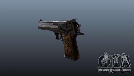 Desert Eagle Pistol for GTA 4 second screenshot