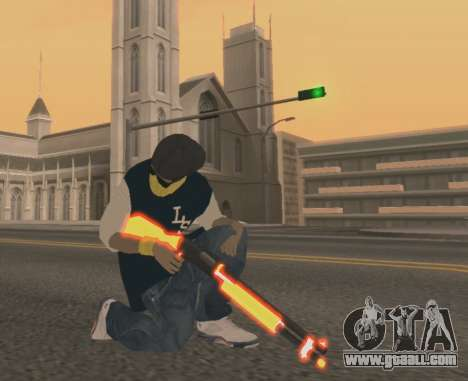 Vagos Gun Pack for GTA San Andreas third screenshot