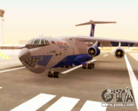 Il-76td Silk Way for GTA San Andreas