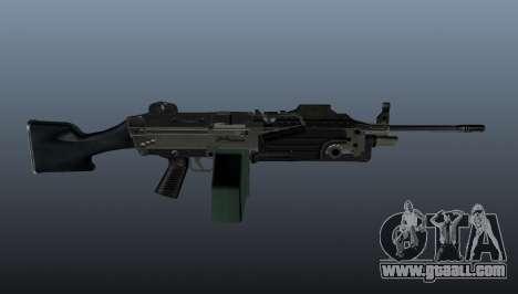 Updated M249 light machine gun for GTA 4 third screenshot