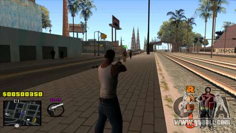 C-HUD Radio for GTA San Andreas second screenshot