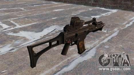 HK G36C Assault Rifle for GTA 4 second screenshot