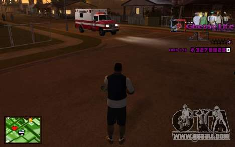 With HUD-Getto Life for GTA San Andreas second screenshot