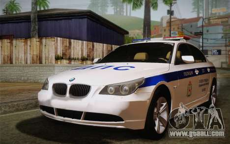 BMW 530xd DPS for GTA San Andreas