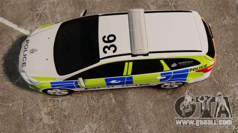 Ford Focus Estate Norfolk Constabulary [ELS] for GTA 4 right view