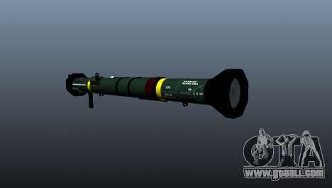 Anti-tank grenade launcher AT4 CS HP for GTA 4 second screenshot
