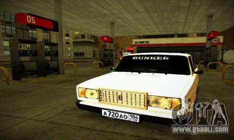 VAZ 2107 BUNKER for GTA San Andreas