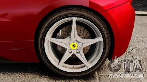 Ferrari 458 Italia 2010 Novitec for GTA 4 right view