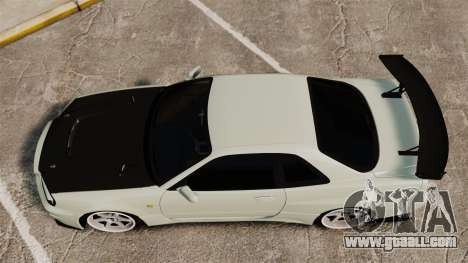 Nissan Skyline GT-R V-Spec II Mk.X [R34] for GTA 4 right view