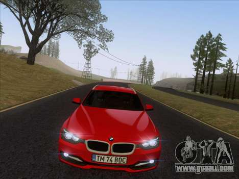 BMW 3 Touring F31 2013 for GTA San Andreas right view
