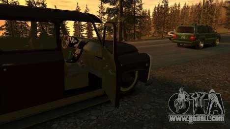 GAZ 53 for GTA 4 side view