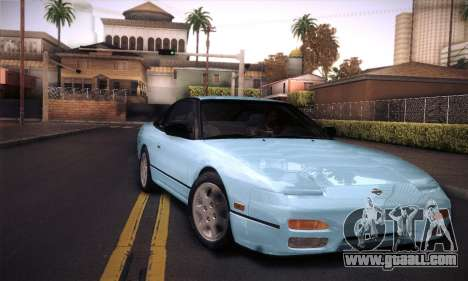 Nissan 240SX 1991 Tunnable for GTA San Andreas upper view