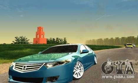 Honda Accord Tuning for GTA San Andreas