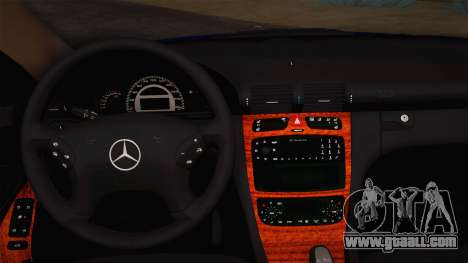 Mercedes-Benz C320 Elegance 2004 for GTA San Andreas inner view