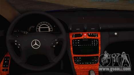 Mercedes-Benz C320 Elegance 2004 for GTA San Andreas inner view