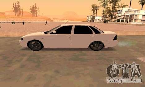 Lada Priora Sport for GTA San Andreas back view